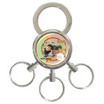 travel - 3-Ring Key Chain