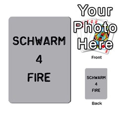 Bag The Hun Card   Axis By Agentbalzac   Multi Purpose Cards (rectangle)   Gh4cmvpa1kog   Www Artscow Com Front 9