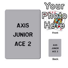 Bag The Hun Card   Axis By Agentbalzac   Multi Purpose Cards (rectangle)   Gh4cmvpa1kog   Www Artscow Com Front 20