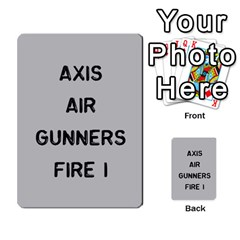 Bag The Hun Card   Axis By Agentbalzac   Multi Purpose Cards (rectangle)   Gh4cmvpa1kog   Www Artscow Com Front 24