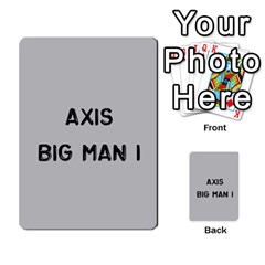 Bag The Hun Card   Axis By Agentbalzac   Multi Purpose Cards (rectangle)   Gh4cmvpa1kog   Www Artscow Com Front 40