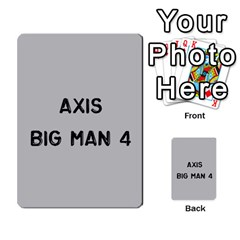 Bag The Hun Card   Axis By Agentbalzac   Multi Purpose Cards (rectangle)   Gh4cmvpa1kog   Www Artscow Com Front 43