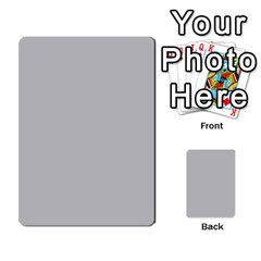Bag The Hun Card   Axis By Agentbalzac   Multi Purpose Cards (rectangle)   Gh4cmvpa1kog   Www Artscow Com Front 46