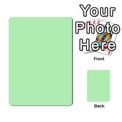 Bag The Hun Card   Axis By Agentbalzac   Multi Purpose Cards (rectangle)   Gh4cmvpa1kog   Www Artscow Com Front 49