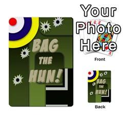 Bag The Hun Card   Axis By Agentbalzac   Multi Purpose Cards (rectangle)   Gh4cmvpa1kog   Www Artscow Com Back 50