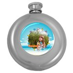 summer - Hip Flask (5 oz)