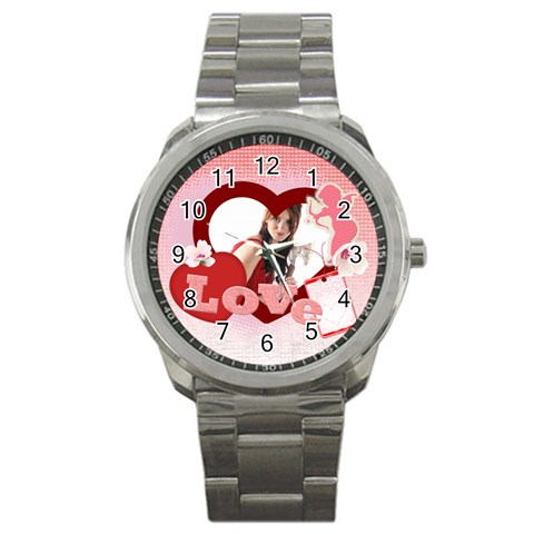 Love By Wood Johnson   Sport Metal Watch   5pdpmr9sfjq6   Www Artscow Com Front
