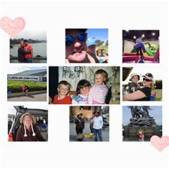 Ash Bday 1  By Dannielle   Collage 8  X 10    Fp2h5m7z402w   Www Artscow Com 10 x8 Print - 1