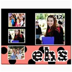 Graduation Poster - Canvas 8  x 10