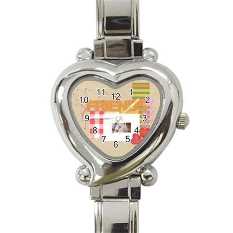 Friends By Joely   Heart Italian Charm Watch   Nbomj92gnple   Www Artscow Com Front