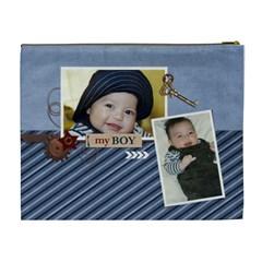 Xl   Cosmetic Bag   My Boy 2 By Jennyl   Cosmetic Bag (xl)   4j22z112xgn8   Www Artscow Com Back