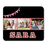 Animal Print Name Mousepad - Large Mousepad