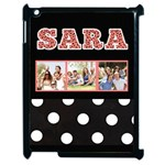 Animal Print & Polka Dot - iPad 2 Case - Apple iPad 2 Case (Black)