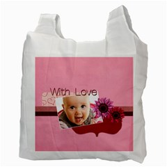With Love By Joely   Recycle Bag (two Side)   Pqw9aqu050jo   Www Artscow Com Back