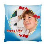 happy life - Standard Cushion Case (Two Sides)