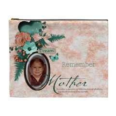 Mom By Carrie   Cosmetic Bag (xl)   L69e79io6wgf   Www Artscow Com Front