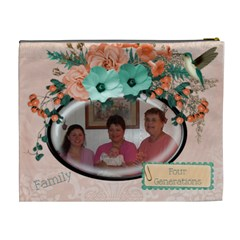 Mom By Carrie   Cosmetic Bag (xl)   L69e79io6wgf   Www Artscow Com Back