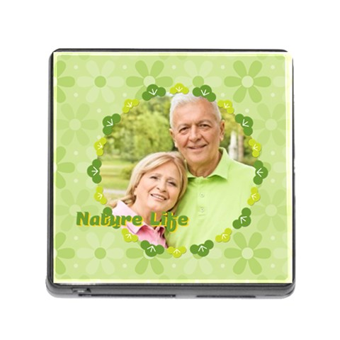Nature Life By May   Memory Card Reader (square)   5vadq0o3syze   Www Artscow Com Front