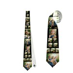 duck day tie - Necktie (Two Side)