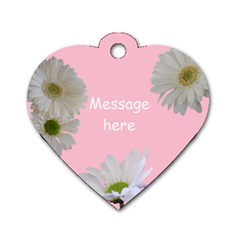 Sweet Heart Dog Tag (2 Sided) By Deborah   Dog Tag Heart (two Sides)   7nmykghmmqty   Www Artscow Com Back
