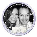 Made for you with love magnet round - Magnet 5  (Round)