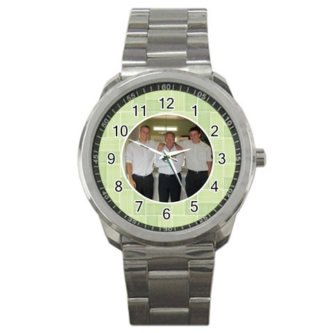 Grampy Watch By Jessica   Sport Metal Watch   3p57t9udpbea   Www Artscow Com Front