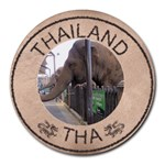 Thailand Mouse Pad - Round Mousepad
