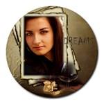 Dreams Mouse Pad - Round Mousepad