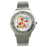 summer - Stainless Steel Watch