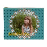 beautiful girl - Cosmetic Bag (XL)
