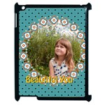 beautiful girl - Apple iPad 2 Case (Black)