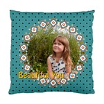 beautiful girl - Standard Cushion Case (One Side)