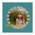 beautiful girl - Medium Glasses Cloth (2 Sides)