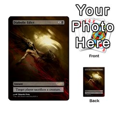 Dismember To Counterspell By Ben Hout   Multi Purpose Cards (rectangle)   U5o33adf70ab   Www Artscow Com Front 2