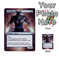 Dismember To Counterspell By Ben Hout   Multi Purpose Cards (rectangle)   U5o33adf70ab   Www Artscow Com Front 25