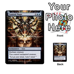 Dismember To Counterspell By Ben Hout   Multi Purpose Cards (rectangle)   U5o33adf70ab   Www Artscow Com Front 45