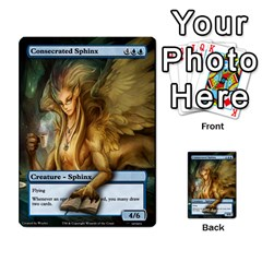 Coralhelm Commander To River Boa By Ben Hout   Multi Purpose Cards (rectangle)   8x5qgq682957   Www Artscow Com Front 2