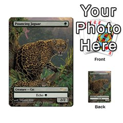 Regrowth To Blightning By Ben Hout   Multi Purpose Cards (rectangle)   B0jip24emsnd   Www Artscow Com Front 6