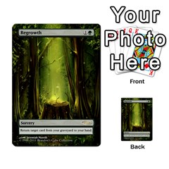 Regrowth To Blightning By Ben Hout   Multi Purpose Cards (rectangle)   B0jip24emsnd   Www Artscow Com Front 2