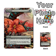 Regrowth To Blightning By Ben Hout   Multi Purpose Cards (rectangle)   B0jip24emsnd   Www Artscow Com Front 16