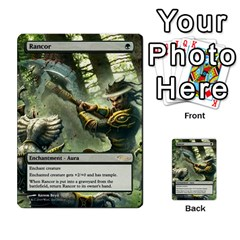 Regrowth To Blightning By Ben Hout   Multi Purpose Cards (rectangle)   B0jip24emsnd   Www Artscow Com Front 3