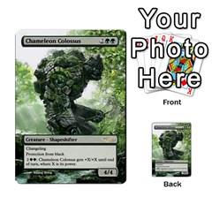 Regrowth To Blightning By Ben Hout   Multi Purpose Cards (rectangle)   B0jip24emsnd   Www Artscow Com Front 27