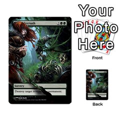 Regrowth To Blightning By Ben Hout   Multi Purpose Cards (rectangle)   B0jip24emsnd   Www Artscow Com Front 28