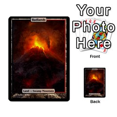 Regrowth To Blightning By Ben Hout   Multi Purpose Cards (rectangle)   B0jip24emsnd   Www Artscow Com Front 4