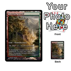 Regrowth To Blightning By Ben Hout   Multi Purpose Cards (rectangle)   B0jip24emsnd   Www Artscow Com Front 35