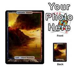 Regrowth To Blightning By Ben Hout   Multi Purpose Cards (rectangle)   B0jip24emsnd   Www Artscow Com Front 38