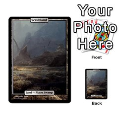 Regrowth To Blightning By Ben Hout   Multi Purpose Cards (rectangle)   B0jip24emsnd   Www Artscow Com Front 46
