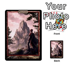 Swamp To Mountain By Ben Hout   Multi Purpose Cards (rectangle)   Otnnlco0jp5t   Www Artscow Com Front 51