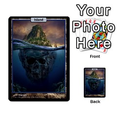 Mountain To Island By Ben Hout   Multi Purpose Cards (rectangle)   Nhmuq96o7yq9   Www Artscow Com Front 3