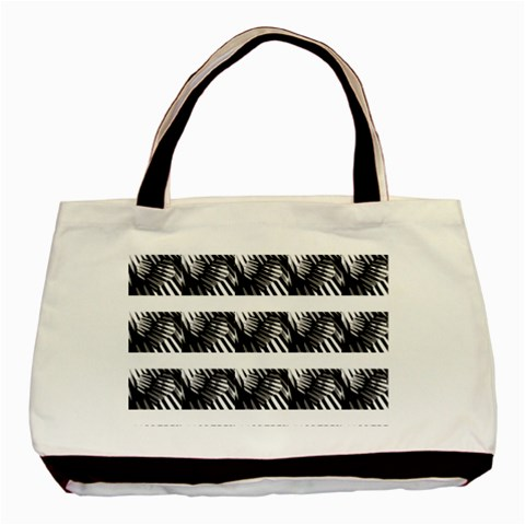 Waves (hearts) By Riksu   Basic Tote Bag   4yezpjk8nmyk   Www Artscow Com Front